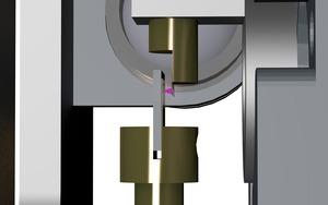 X-ray focusing onto sample