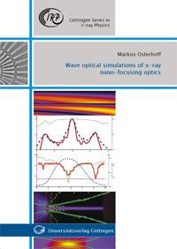 cover of Wave optical simulations of x-ray nano-focusing optics
